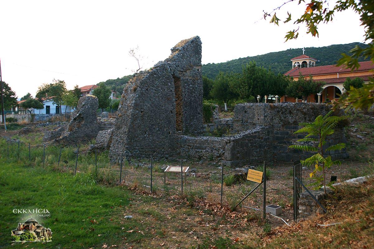 Ερείπια αρχαίου ναού Αχέροντας