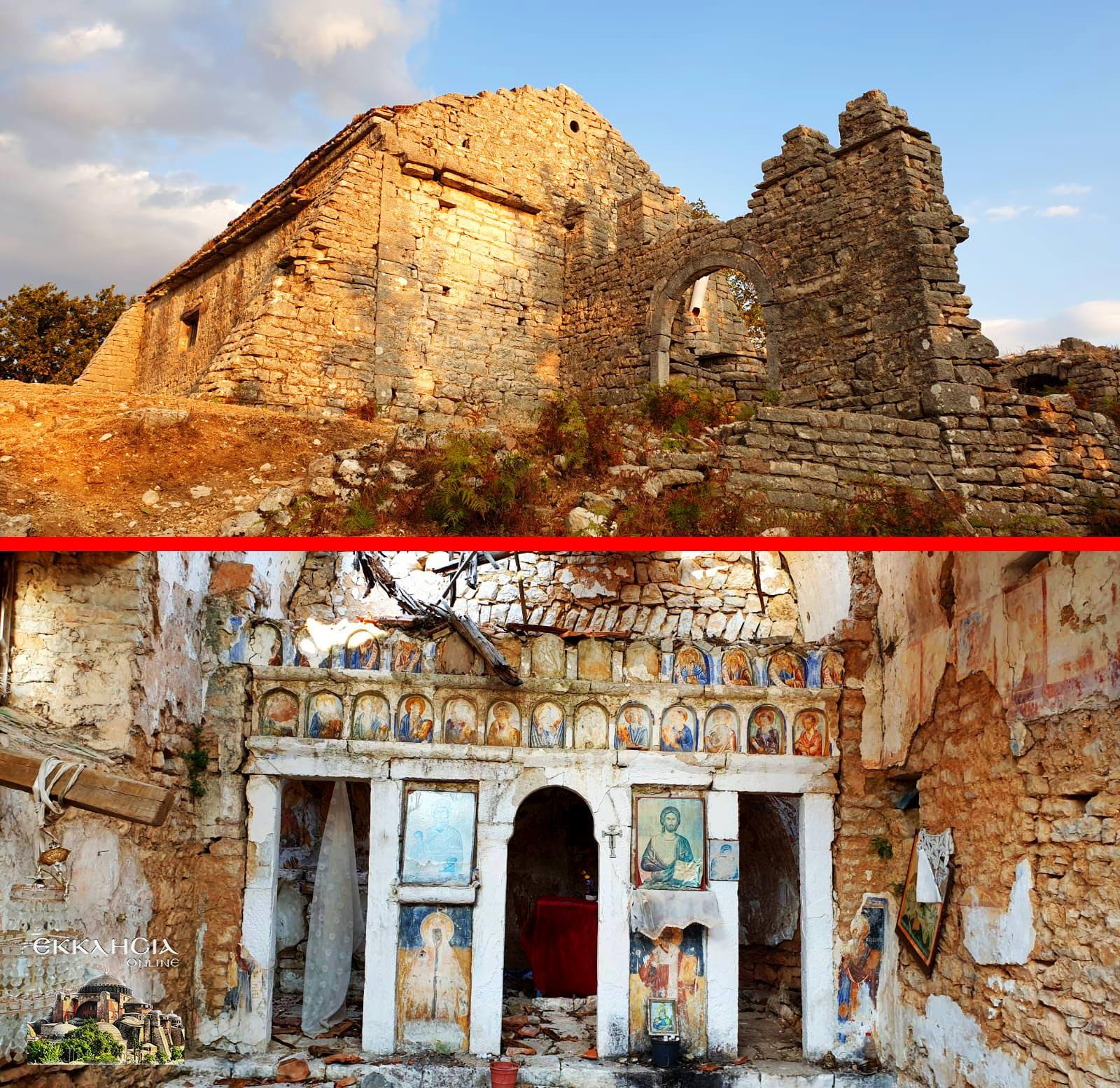Αναστηλώνονται δύο ερειπωμένα ιστορικά μοναστήρια της Χειμμάρας