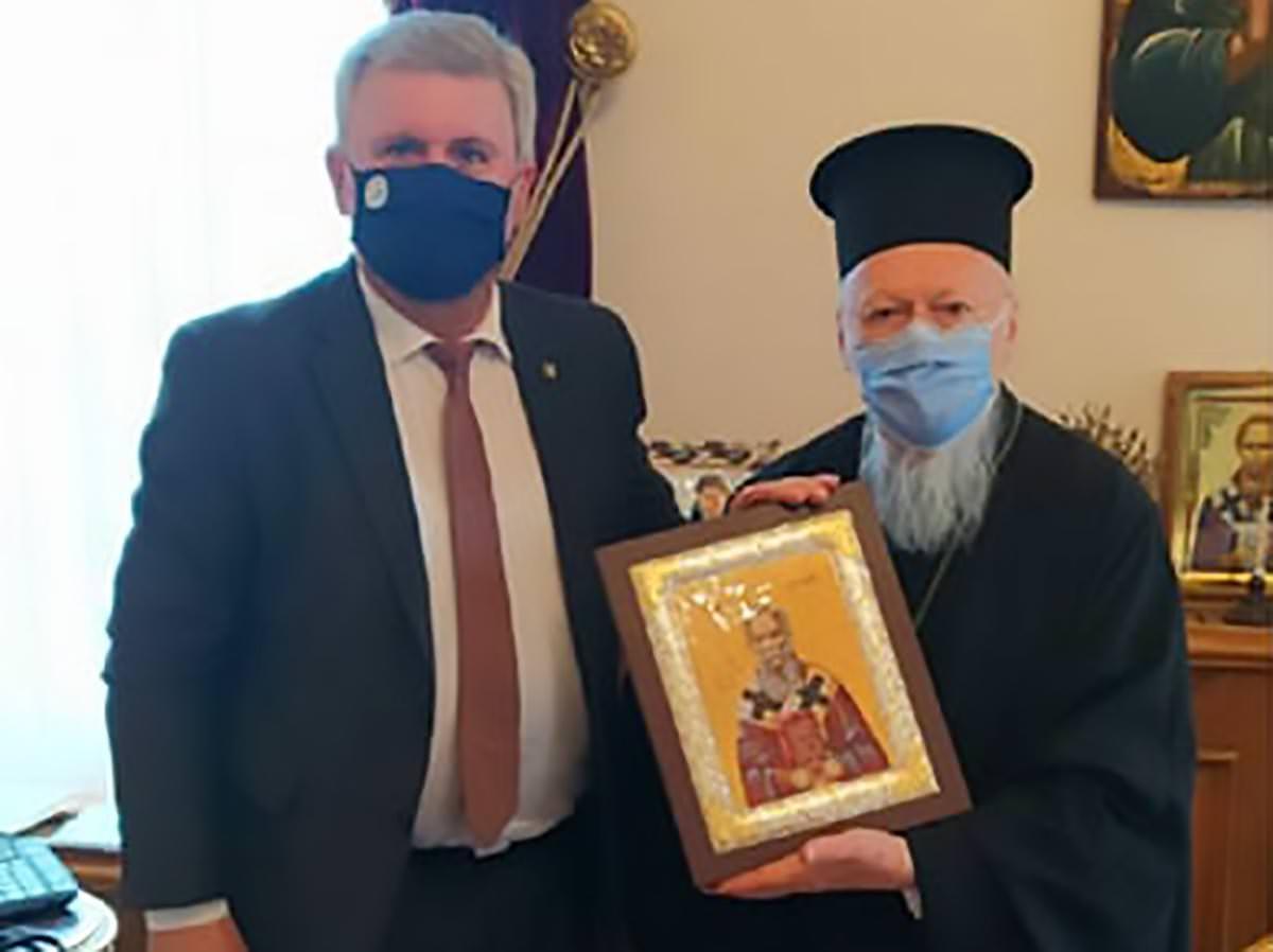 Δήμαρχος Σουλίου Οικουμενικός Πατριάρχης