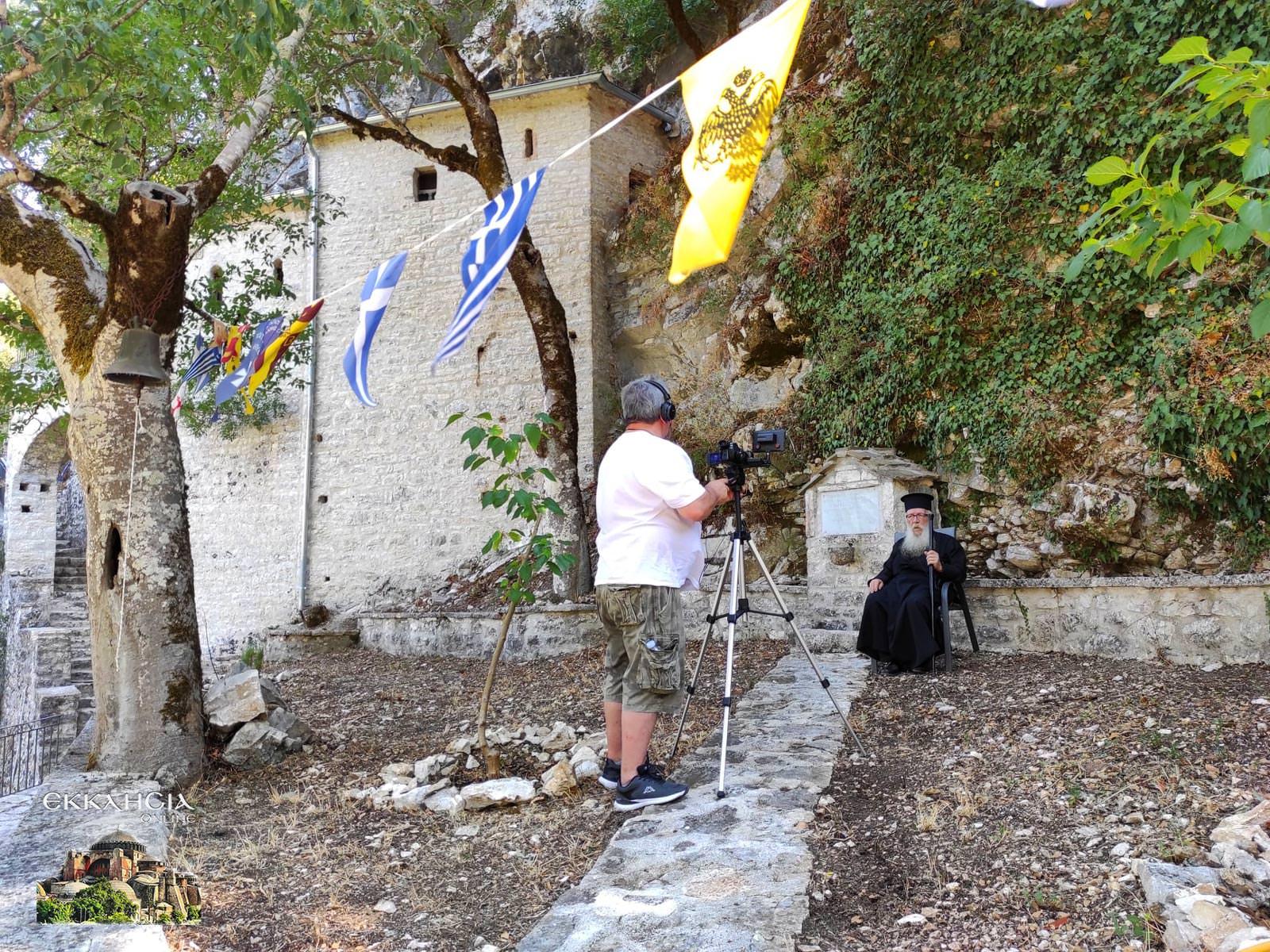 Μοναστήρι Παναγίας Ραϊδιώτισσας π. Ελευθέριος Παππάς
