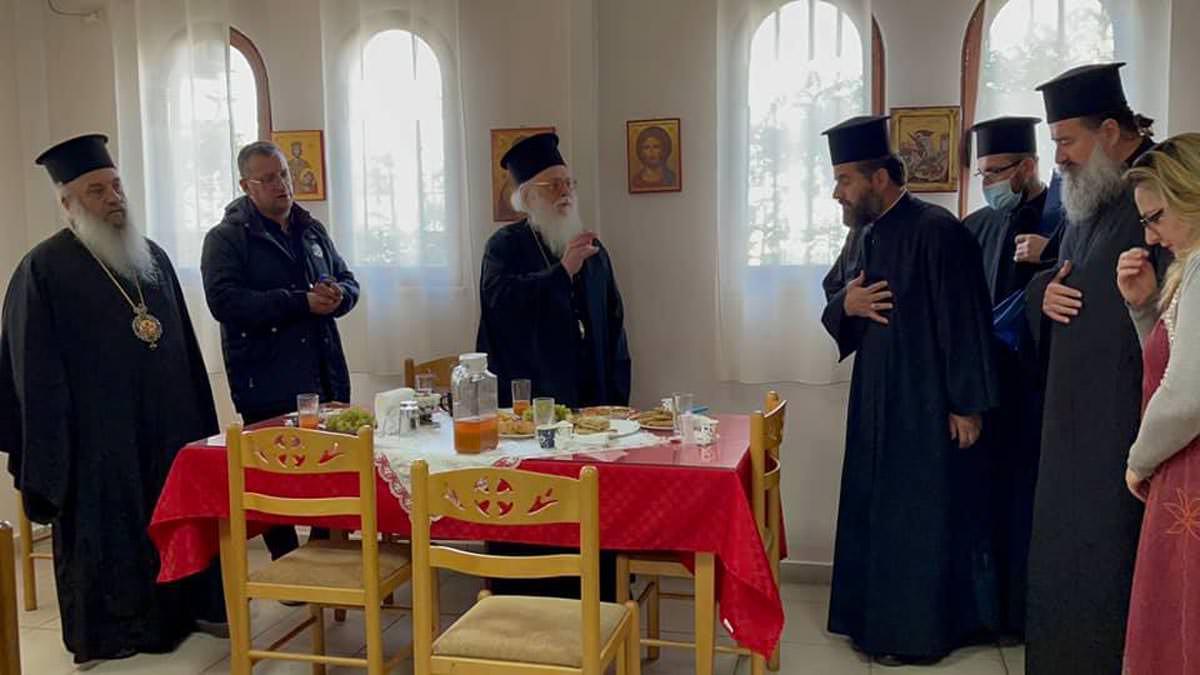 Αρχιεπίσκοπος Αλβανίας στα Τίρανα